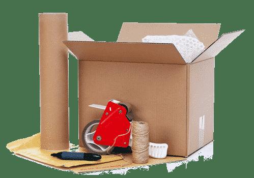 קרטונים למעבר דירה, ארגזים וחומרי אריזה